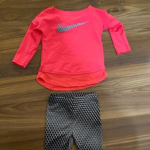 Nike baby girls outfit